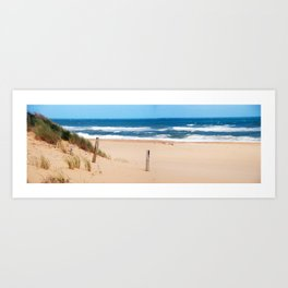 Lakes Entrence 90mile beach Art Print