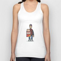 marty mcfly Tank Tops featuring Marty by Sr.Pandita