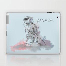 Don't Wanna Cry Laptop & iPad Skin