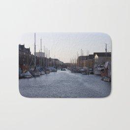 Copenhagen Christianshavn canal view Bath Mat