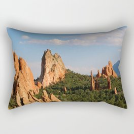 Garden of the Gods Rectangular Pillow