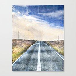 Alicia Clark - Fear The Walking Dead - Alycia Debnam-Carey Canvas Print