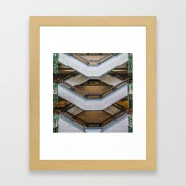 The Symmetry of the Shanghai Museum Framed Art Print