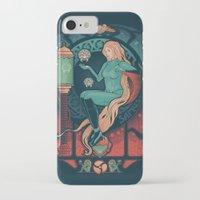 nouveau iPhone & iPod Cases featuring Aran Nouveau by Victor Vercesi