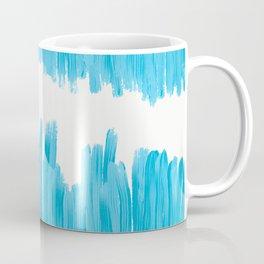 Sea of Blue Painted Coffee Mug