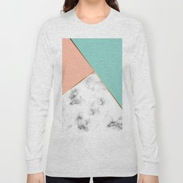 Marble Geometry 056 Long Sleeve T-shirt