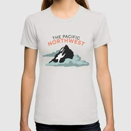 Mountains and Clouds: The Pacific Northwest T-shirt