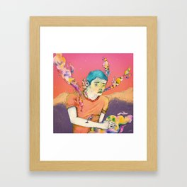 Self-cooker Framed Art Print