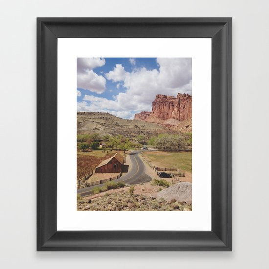 Capitol Reef Framed Art Print