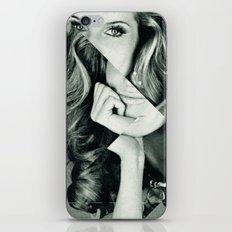 Frau Dreiecke 5 iPhone & iPod Skin