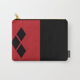 Two Sides of Harley Quinn Carry-All Pouch