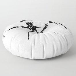 Cowboy Bebop - Spike Jet Knockout Black Floor Pillow