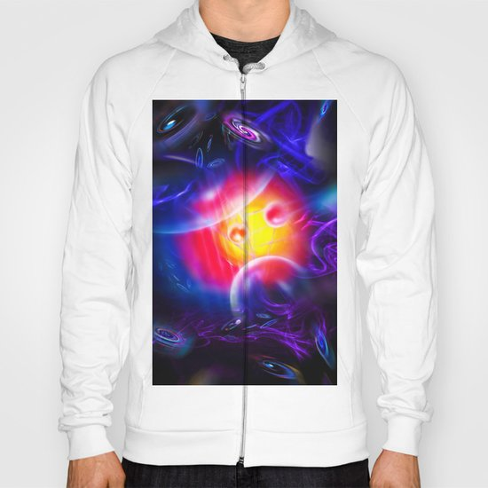 Abstract Perfection - Space Hoody