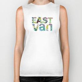East Van colour Biker Tank