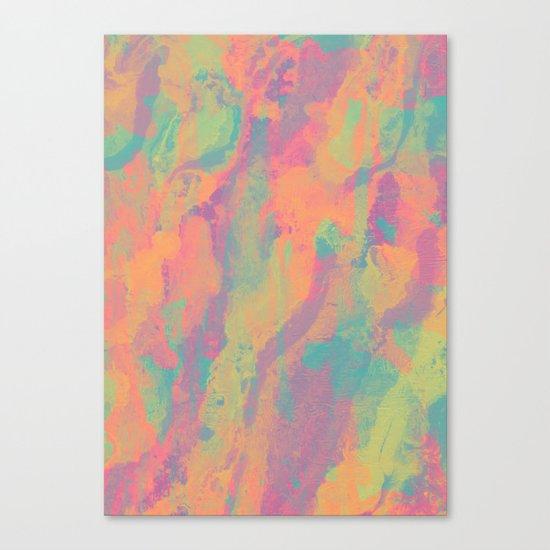 Neon marble II Canvas Print