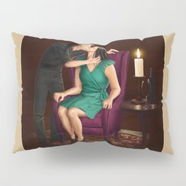 raven in a gilded cage Pillow Sham