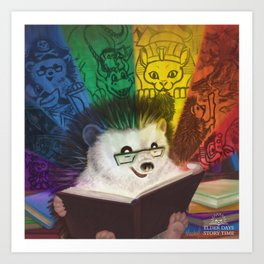 A Spectrum of Stories Art Print