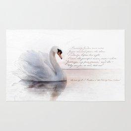 The Swan Princess Rug
