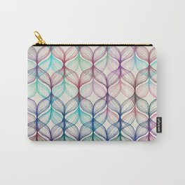 Mermaid's Braids - a colored pencil pattern Carry-All Pouch