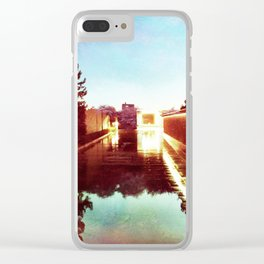 Watery Way Clear iPhone Case