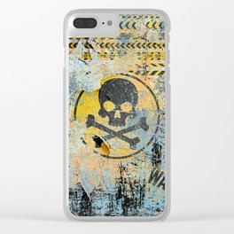 WARNING! Clear iPhone Case
