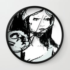Portrait 101 Wall Clock