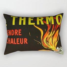 Thermogène Warms You Up Rectangular Pillow