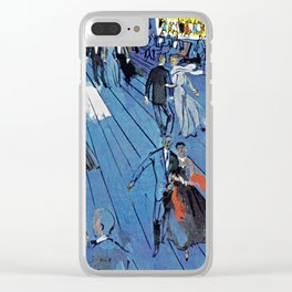 Romance On The High Seas Clear iPhone Case