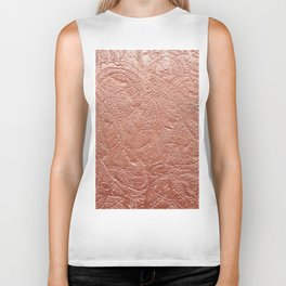 Copper Jellyfish Biker Tank