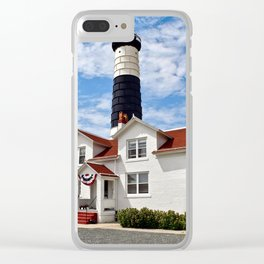 """Big Sable Point Lighthouse"" #2 Clear iPhone Case"