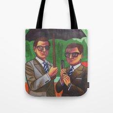 Suited Tote Bag
