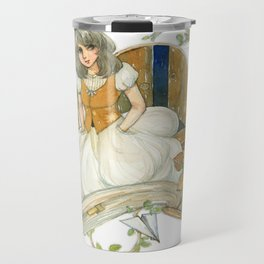 Colourful Seasons in the Forest Beautiful Childhood Fairytale Travel Mug