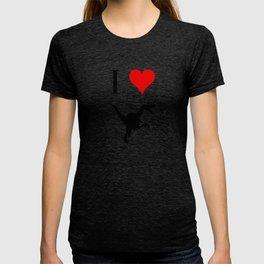 I Love Dinosaurs - Velociraptor T-shirt