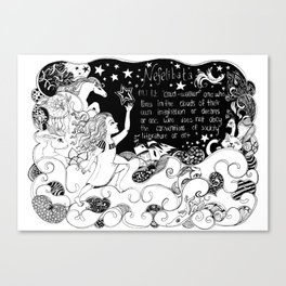 Nefelibata Canvas Print