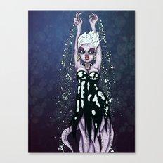 Ursula the Sea Witch Little Mermaid Octopus RonkyTonk Canvas Print