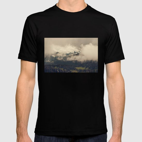 Mountains through the Fog T-shirt