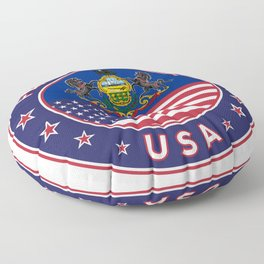 Pennsylvania, Pennsylvania t shirt, sticker, poster Floor Pillow