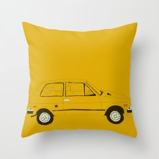Yugo —The Worst Car in History Throw Pillow