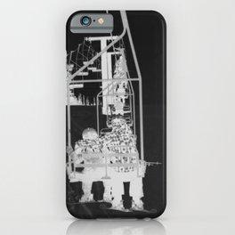 Inverted Ski Lift iPhone Case