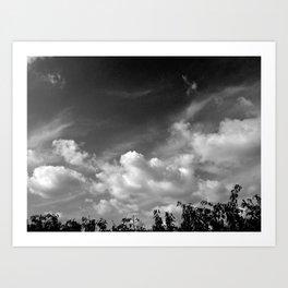'Valley Clouds #3' Art Print