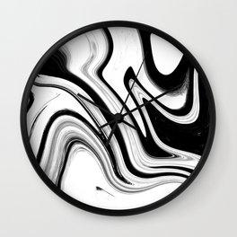 marble swirls Wall Clock