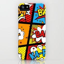 Kapow iPhone Case