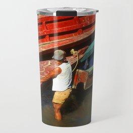 Rio Usumacinta Mexico Travel Mug
