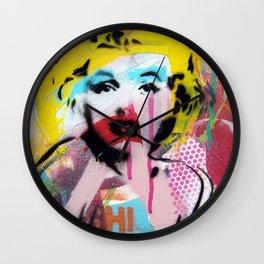 Warhola Wall Clock
