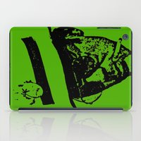hunter s thompson iPad Cases featuring Outlaws of Literature (Hunter S. Thompson) by Silvio Ledbetter