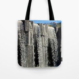 The Inner City Waterfall Tote Bag