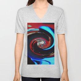 Swirling colors 04 Unisex V-Neck