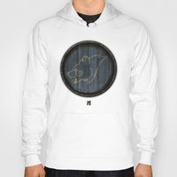 skyrim Hoodies featuring Shield's of Skyrim - Windhelm by VineDesign