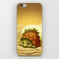 turtle iPhone & iPod Skins featuring turtle by Antracit