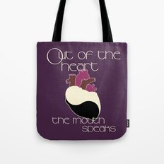 Out Of The Heart Tote Bag